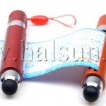 Scroll Banner Stylus for touchscreen tablet device