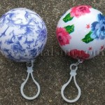 Promotional Flower Printed Ball Raincoats